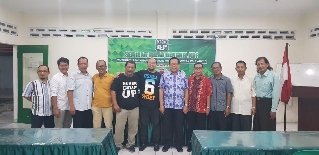 Ketua MW KAHMI Sumut, Hadiri Seminar Milad Bengkel NDP