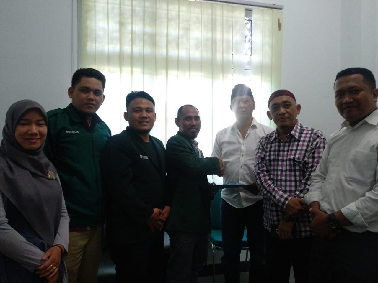 PW Al-Washliyah Sumut, Terima SK Kepengurusan PW ISARAH Sumut Periode 2019-2023