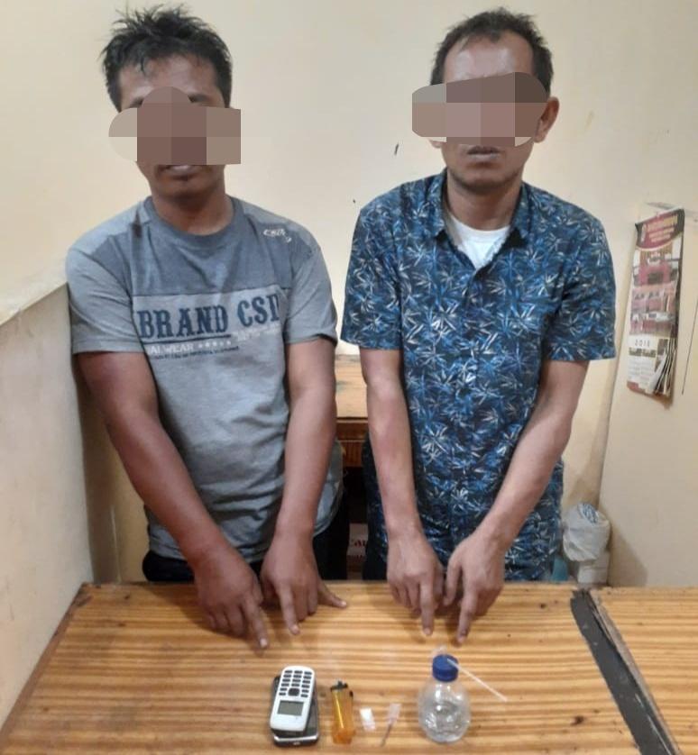Polsek Lubuk Pakam, Amankan 2 Pria Diduga Pengguna Narkotika