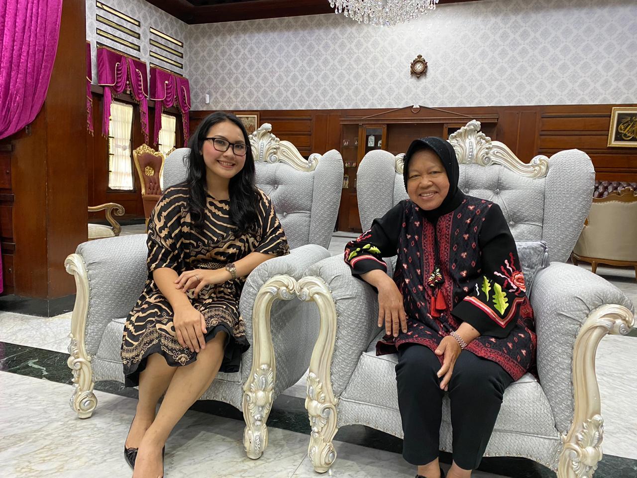 Pilkada Serentak 2020, Meryl Rouli Ngaku Banyak Terinspirasi dari Walikota Surabaya
