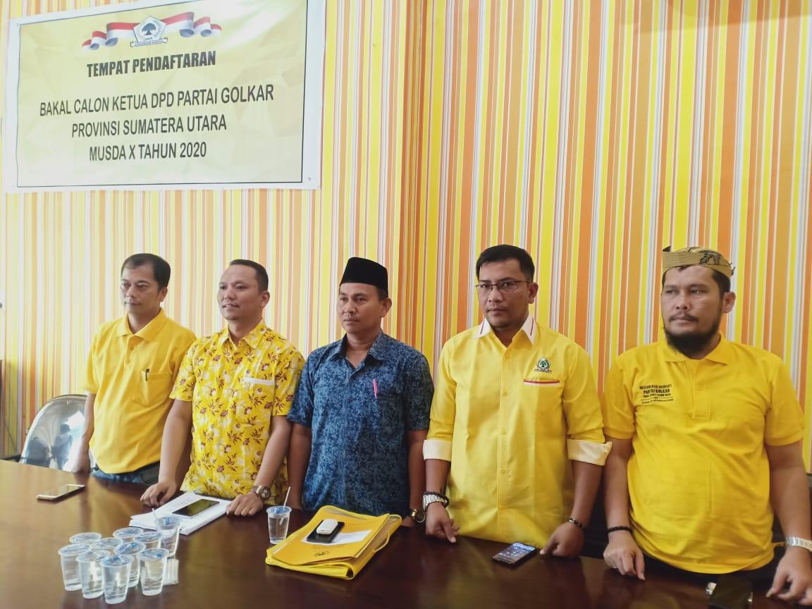 Musda Golkar Sumut, Amas Muda: Tidak Ada Tunda-tunda Sudah Perintah DPP