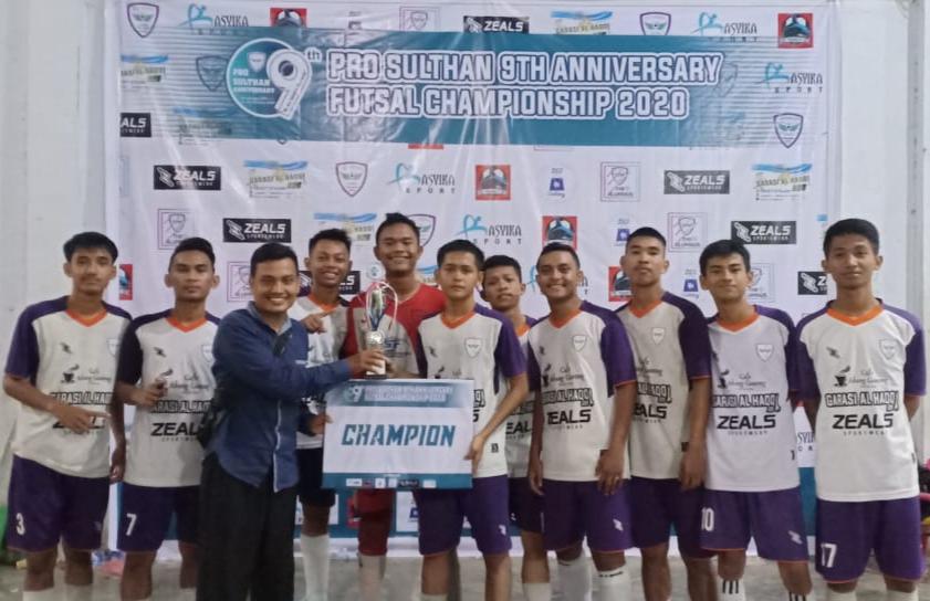MAN 1 LANGKAT, Kampiun Pro Sulthan 9th Anniversary Futsal Championship 2020