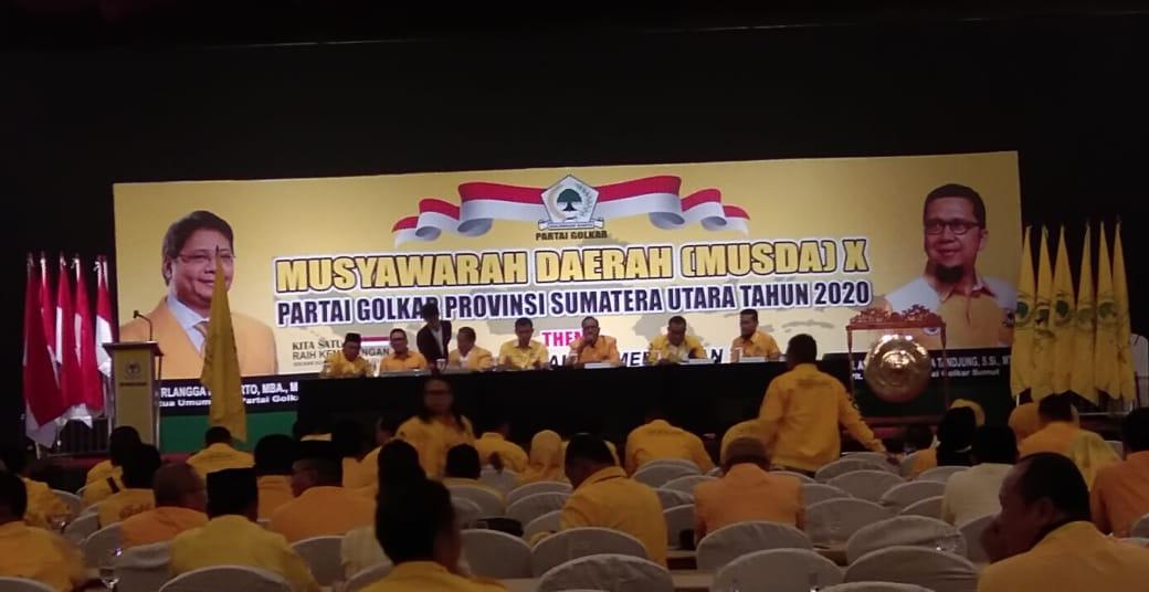 Musda Golkar Sumut, Doli Kurnia Tanjung Buka Musda