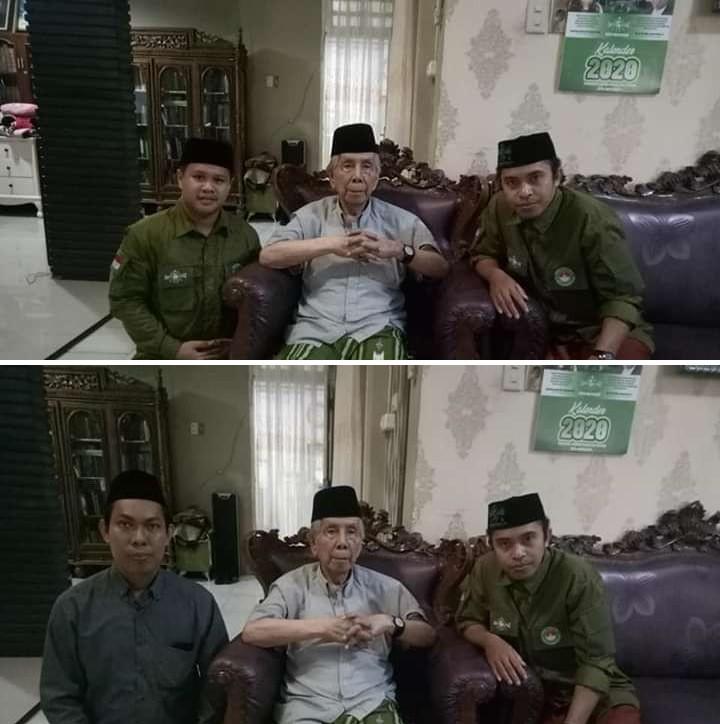 Pejuang Islam Nusantara Sulsel, Minta Doa Restu AGH Sanusi Baco