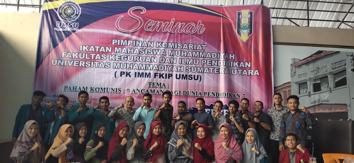 IMM FKIP UMSU, Gelar Seminar Bahaya Paham Komunis dalam Dunia Pendidikan