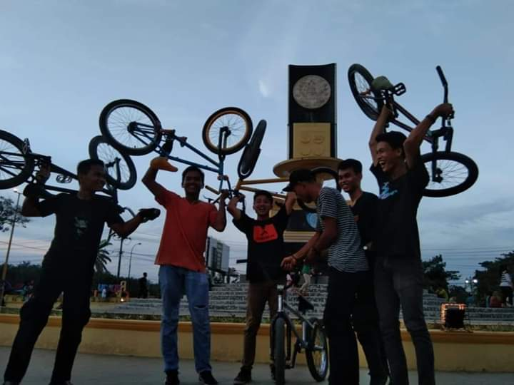 Anak Latihan Sepeda BMX, Perlu Perhatian Pemkab Labuhanbatu