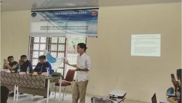 Debater Unimal ini, Isi Materi di TDORK IMATAB Aceh