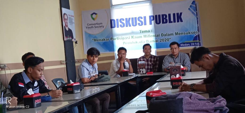 Dialog Publik Consortium Youth Society Soal Pilkada