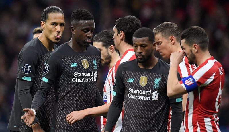 Liverpool Kandas di Markas Atletico Madrid