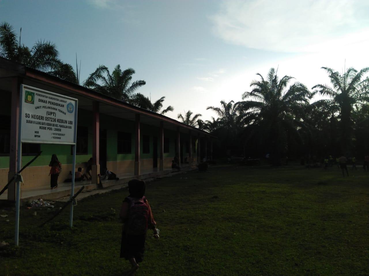 SD Negeri 057236 Kebun Ubi, Masyarakat Inisiatif Gaji Guru Honor