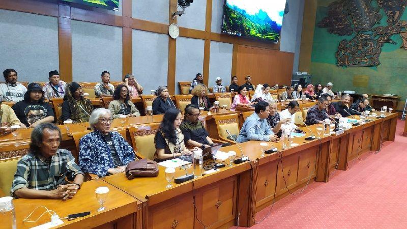 RDP Komisi X DPR, Seniman Curhat Soal Revitalisasi Taman Ismail Marzuki