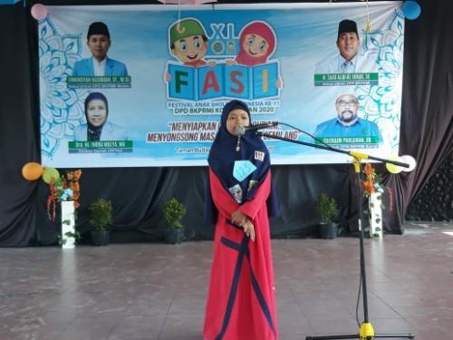 Festival Anak Sholeh Indonesia XI Wadah Pembinaan Generasi Muda