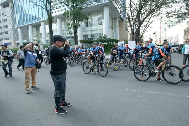 Akhyar Hunting Foto Bersama Anggota PFI Medan