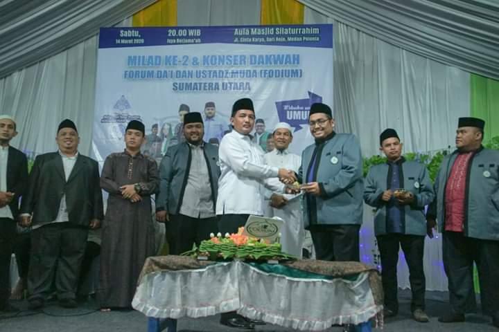 Pemko Medan Apresiasi Konser Dakwah dan FODIUM Sumut