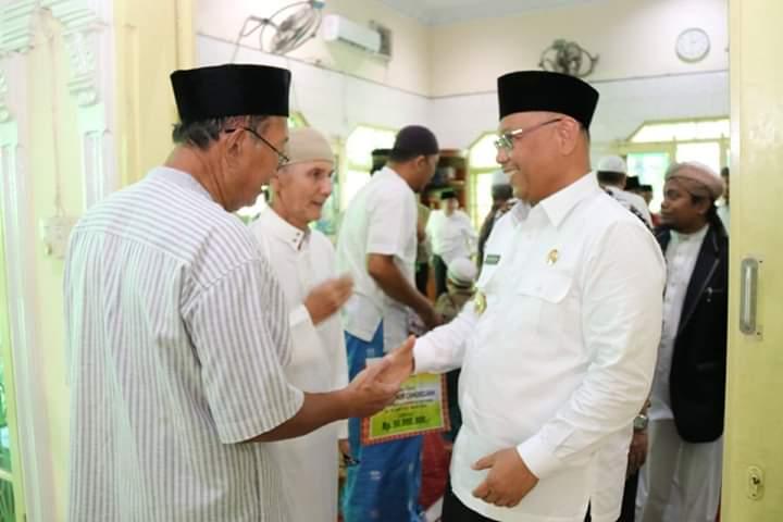 Cegah Virus Corona,Akhyar Ajak Jamaah Masjid Nur Chadidjah Jaga Kondisi Tubuh dan Kebersihan Diri