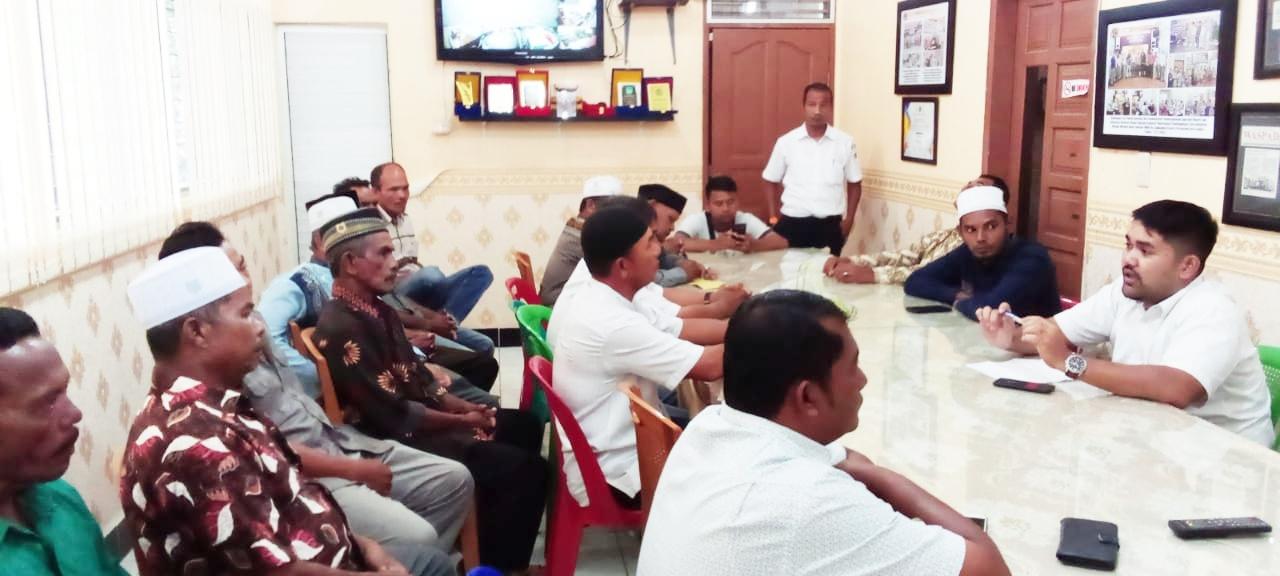 Pemerintah Gampong Kuala Langsa Mengeluh pada BPN Langsa