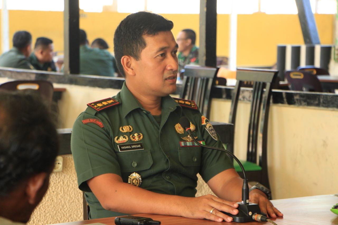 Dandim Aceh Timur, Ajak Wartawan Ngopi untuk Tingkatkan Kemitraan