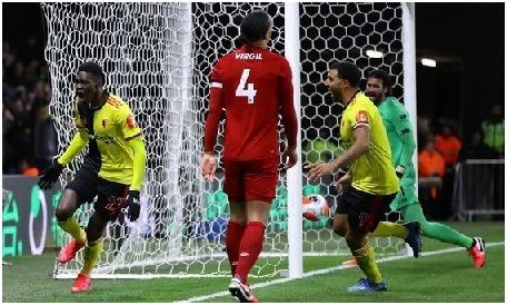 Watford vs Liverpool: Skor 3-0