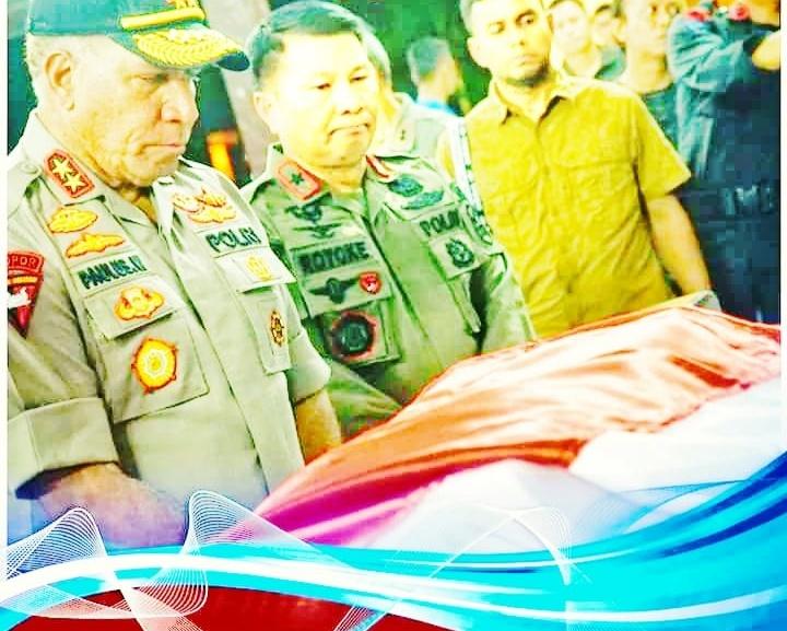 Kapolda Papua, Memberikan Penghormatan Untuk Bharatu Anumerta Doni Priyanto