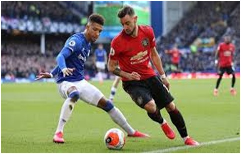 Everton Vs Man United: 1-1