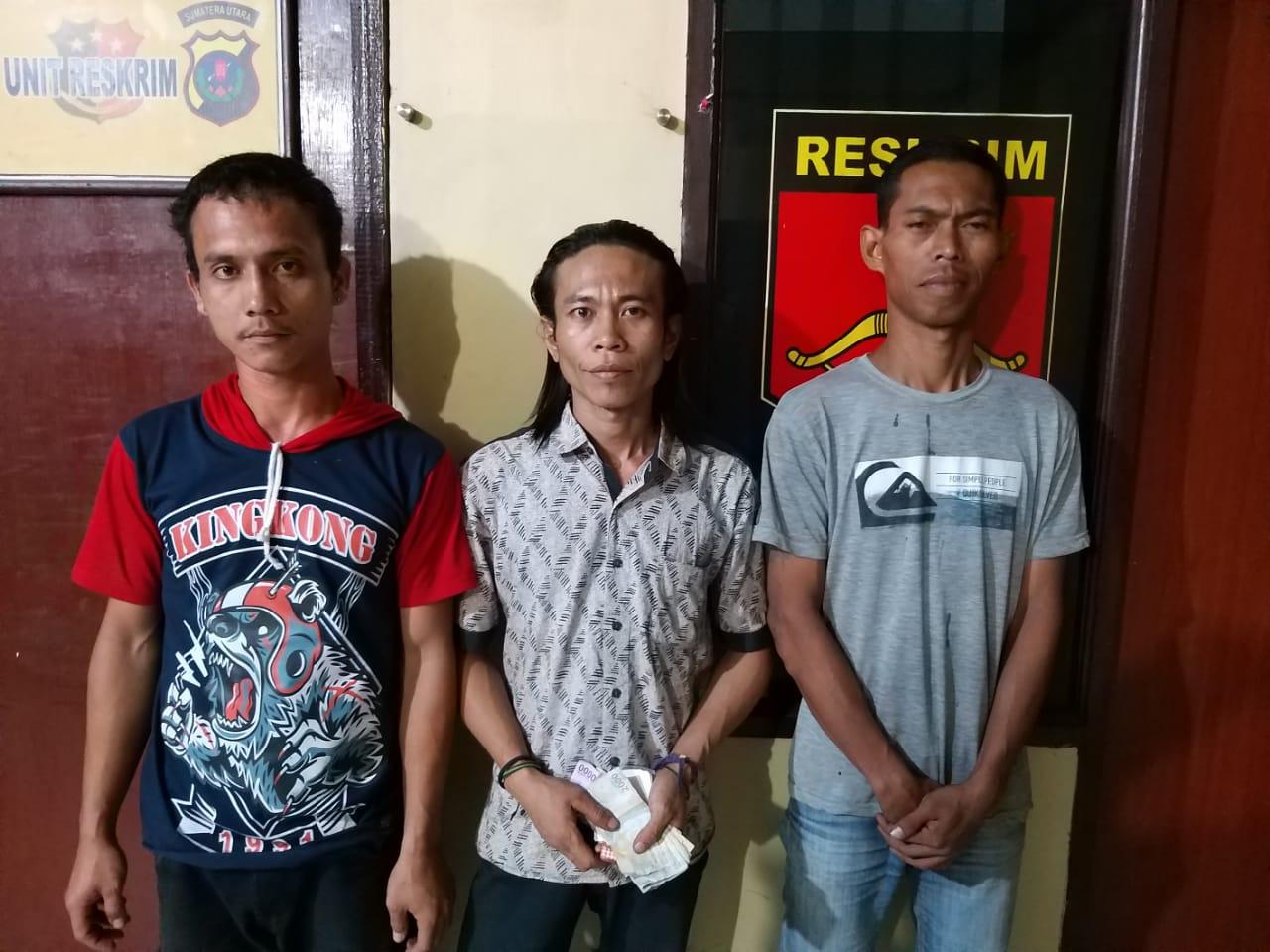 Polsek Tanjung Morawa, Amankan 3 Pelaku Pungli