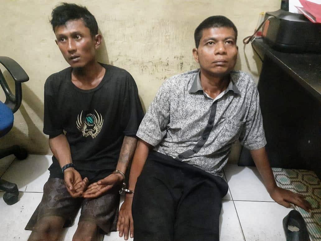 Polsek Tanjung Morawa, Amankan Pelaku Pencurian di Warung Tuak