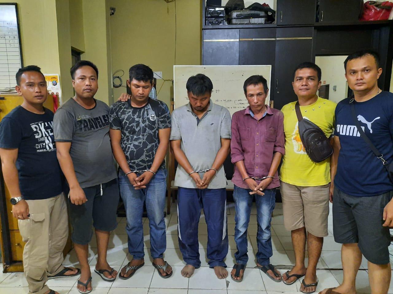 Narkoba di Tanjung Balai, Polisi Ringkus 3 Bandar