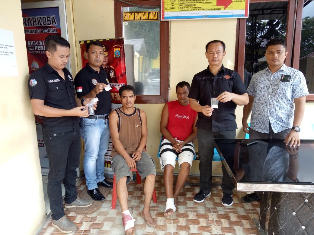2 Pengedar Sabu, Ditembak Polres Sergai