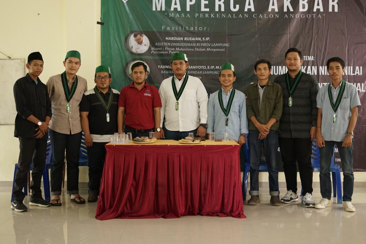 Kabid PA HMI Bandar Lampung, Sebut Maperca Tidak Tertera Dalam Konstitusi HMIKabid PA HMI Bandar Lampung, Sebut Maperca Tidak Tertera Dalam Konstitusi HMI