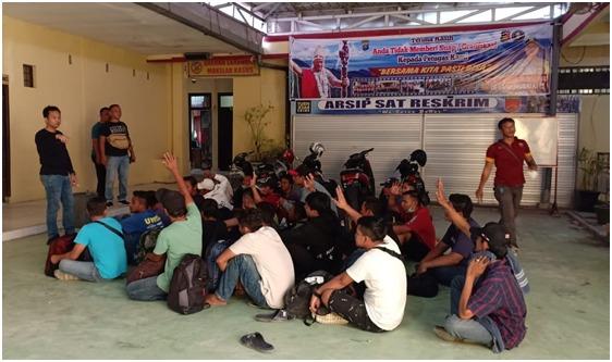 Polres Tanjung Balai, Amankan Kapal Motor Bawa 39 TKI dari Malaysia