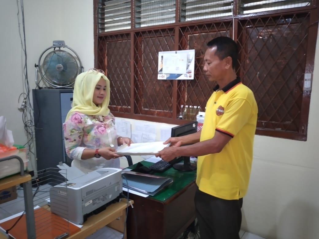 KPU Asahan, Terima Berkas Calon Sekretariat PPS Pulo Bandring