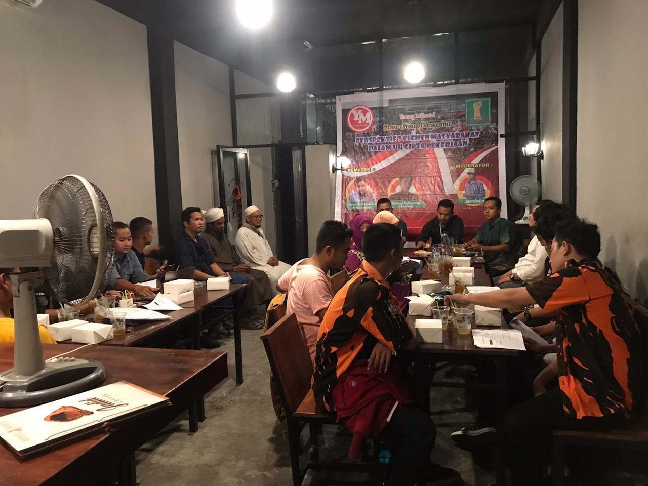 Omnibus Law di Medan, Didukung 3 Elemen Masyarakat