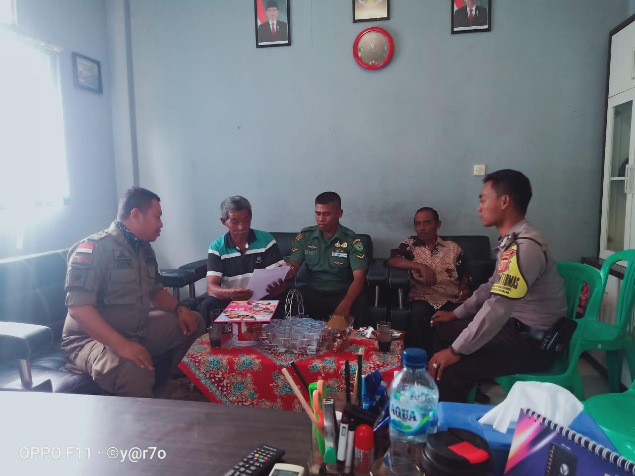 Virus Corona di Banjar, Bhabinkamtibmas Ajak Masyarakat Bentuk Satgas