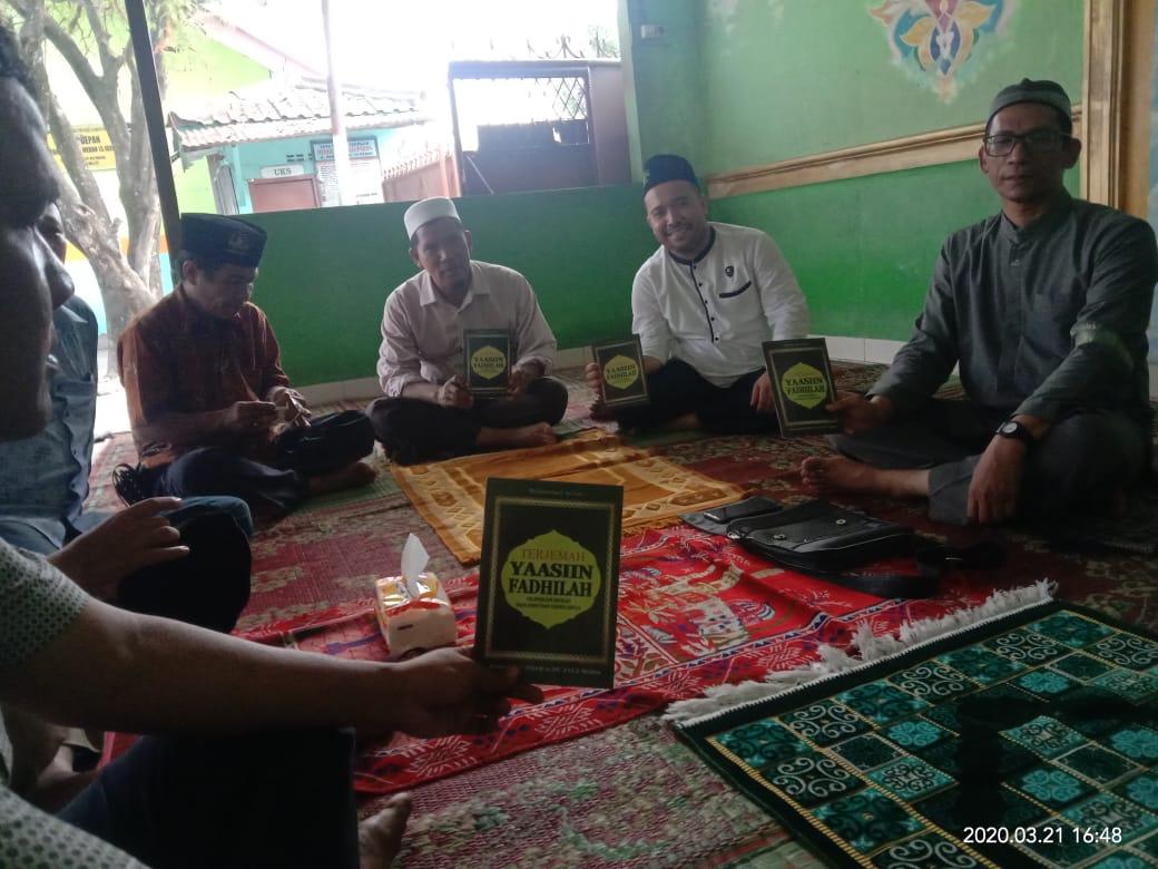 Pejuang Islam Nusantara Sumut, Melaksanakan Pembacaan Yasin Fadhilah Agar Corona Segera Teratasi