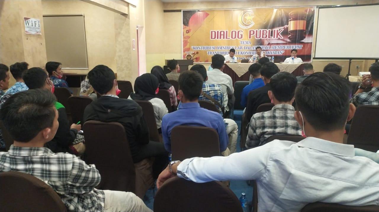 Madani Institute, Gelar Diskusi Publik Soal Omnibus Law