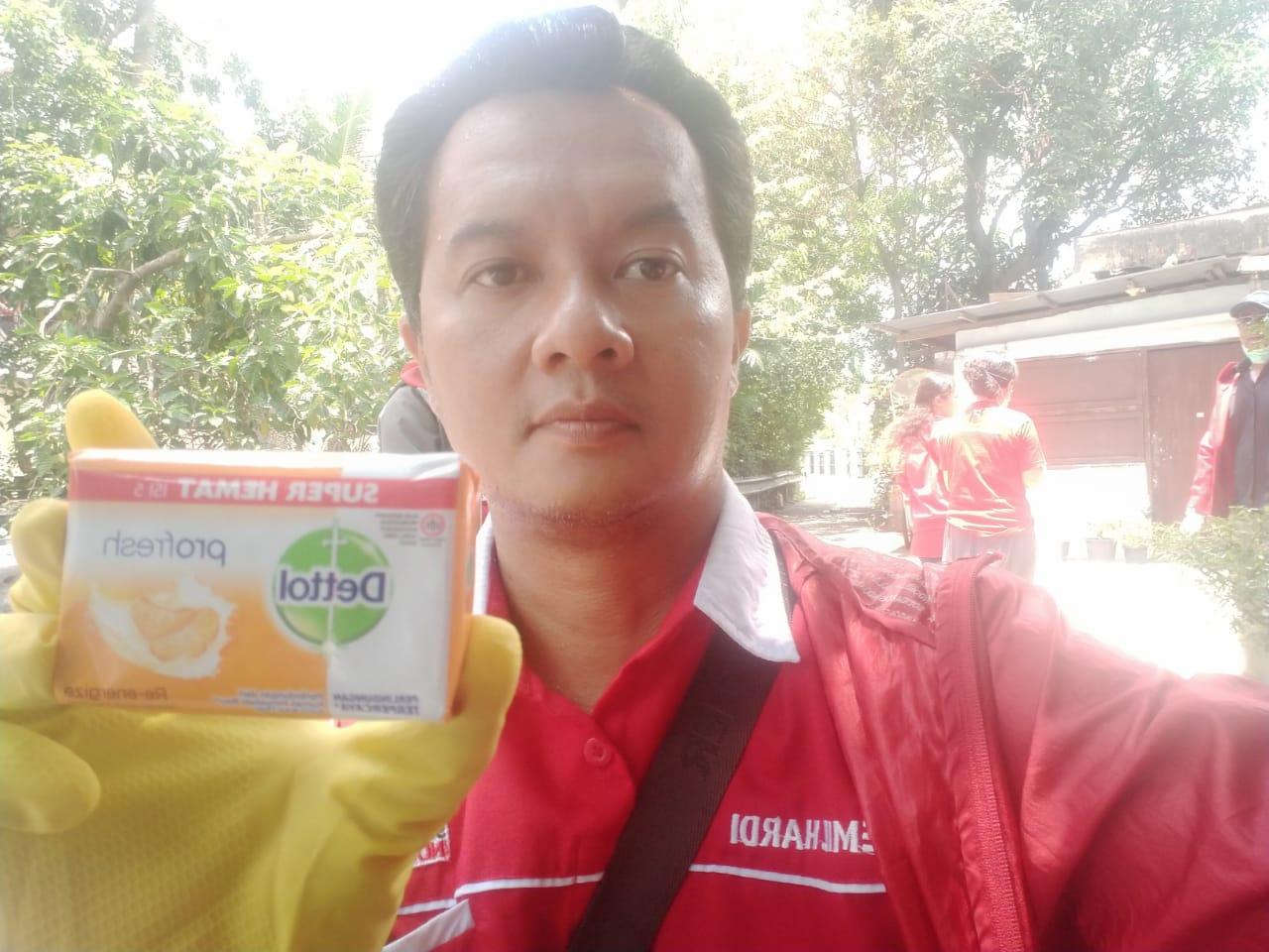 PSI Medan, Lakukan Penyemprotan Disinfectant dan Bagi Sabun Gratis