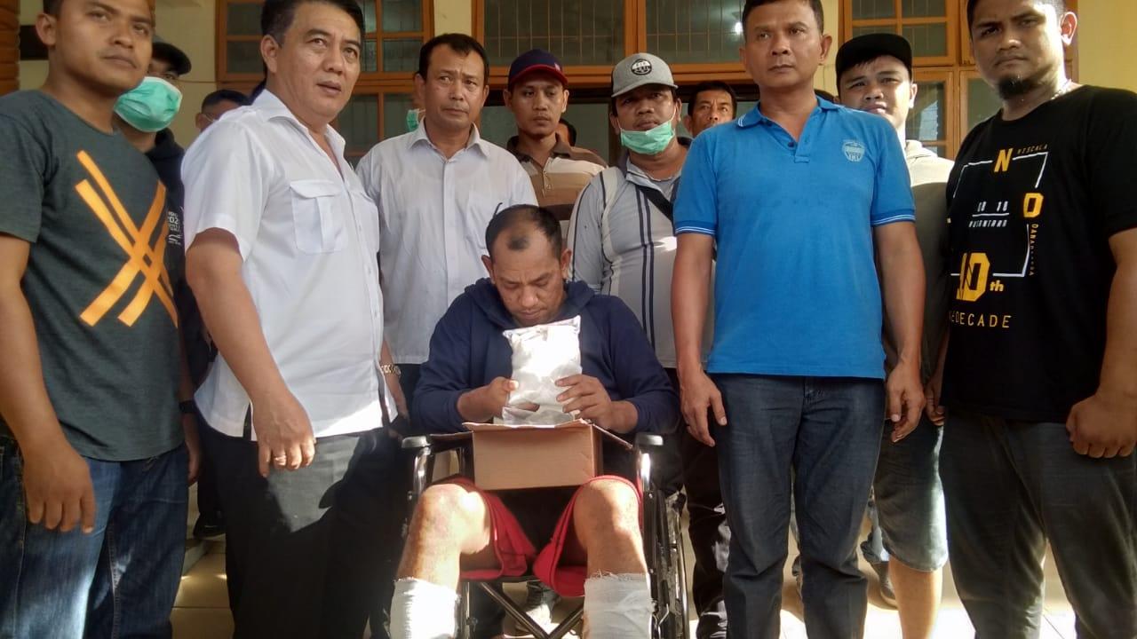 Bawa Sabu, JR Meringis Kesakitan Karena Kena Dor Polres Asahan
