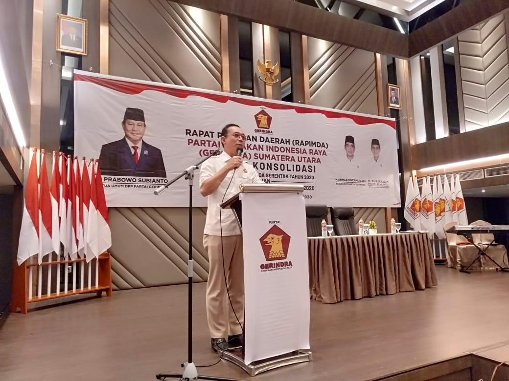 Gerindra Sumut, Sebut Prabowo Menjadi Daya Tarik Masyarakat