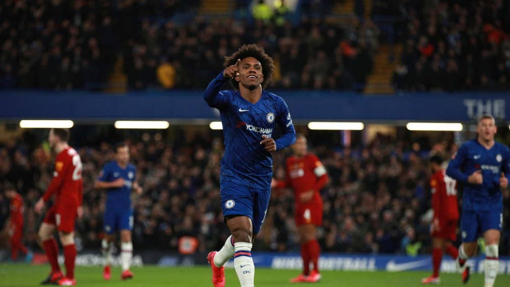 Chelsea vs Liverpool: Skor 2-0