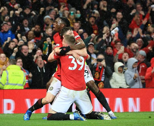 Manchester United vs Manchester City: Skor 2-0