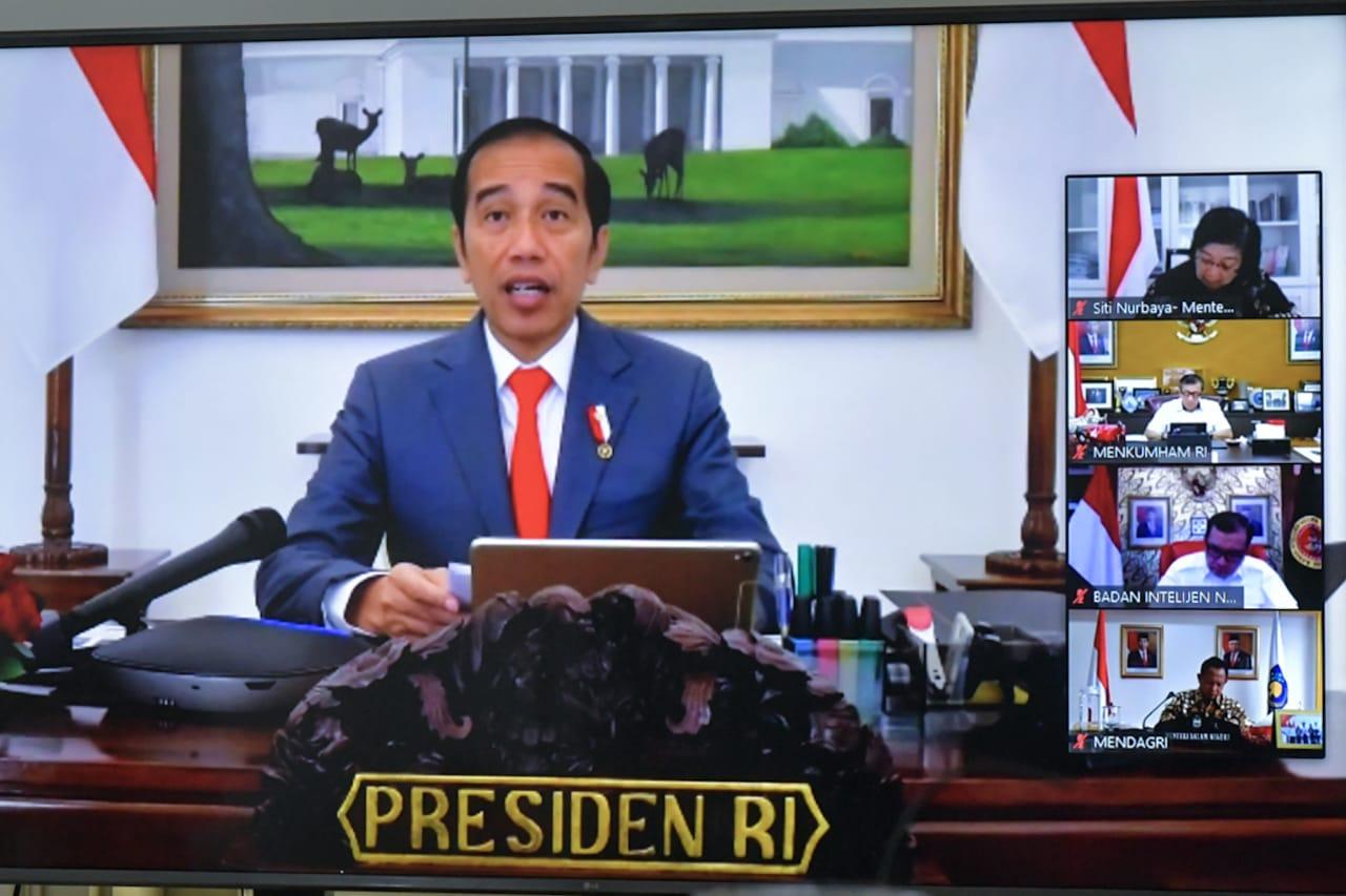 Belum Siapkan Anggaran Covid-19, Jokowi Minta Menkeu dan Mendagri Tegur 103 Pemda