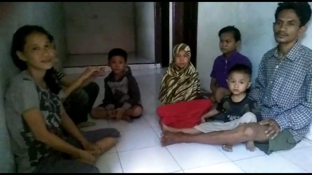 1 Keluarga di Medan Tak Makan Beberapa Hari, Diusir Pula Dari Kontrakan
