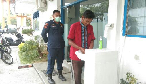 PDAM Kota Langsa sediakan Air dan Sabun Cuci Tangan