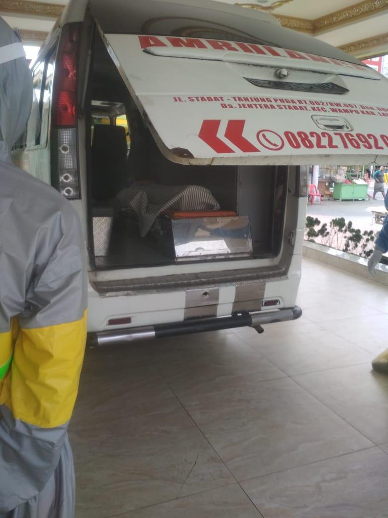 Satu PDP Warga Langkat, Diantar ke RS GL Tobing Tanjung Morawa