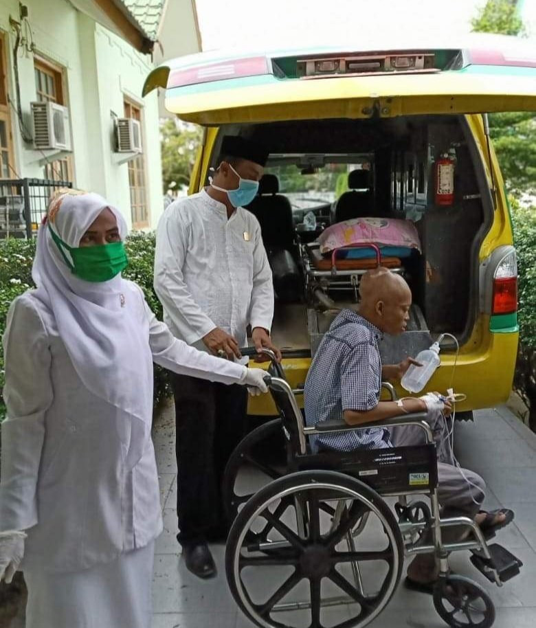 Sekjen Partai Demokrat Aceh Tamiang, Peduli Pasien Tumor