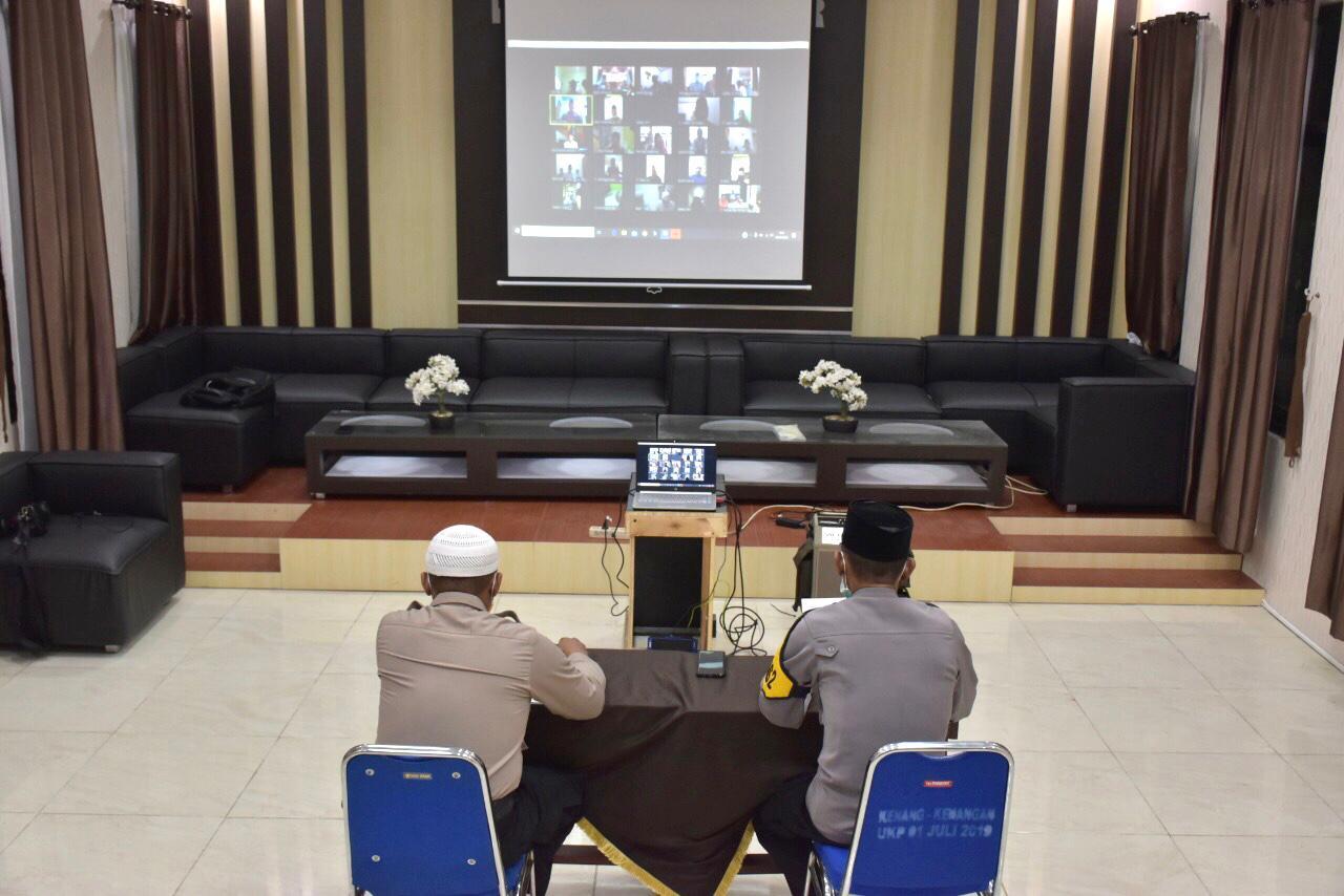 Terkait Imbauan Polri, Polres Banjar Gelar Istighosah Serentak