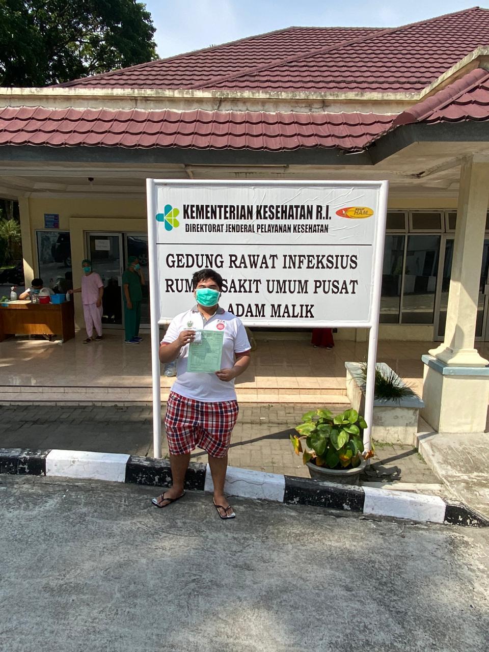 Alhamdulillah, Anggota DPRD Sumut Aulia Telah Sembuh dari Covid-19