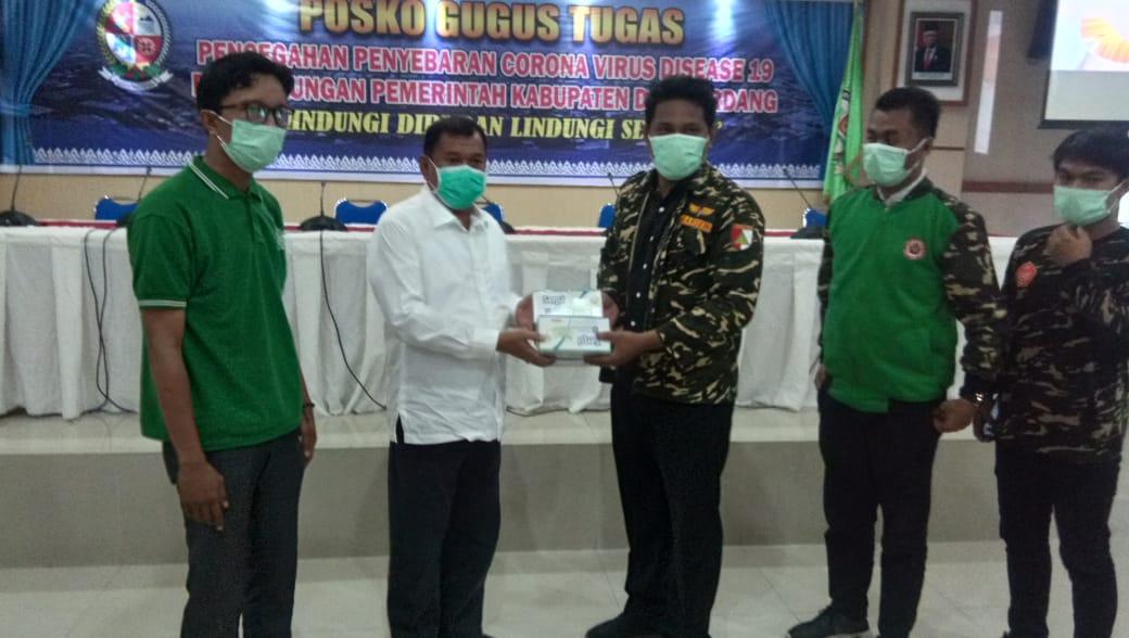 GP Ansor Sumut, Bantu Masker ke Masyarakat Tanggap Covid-19