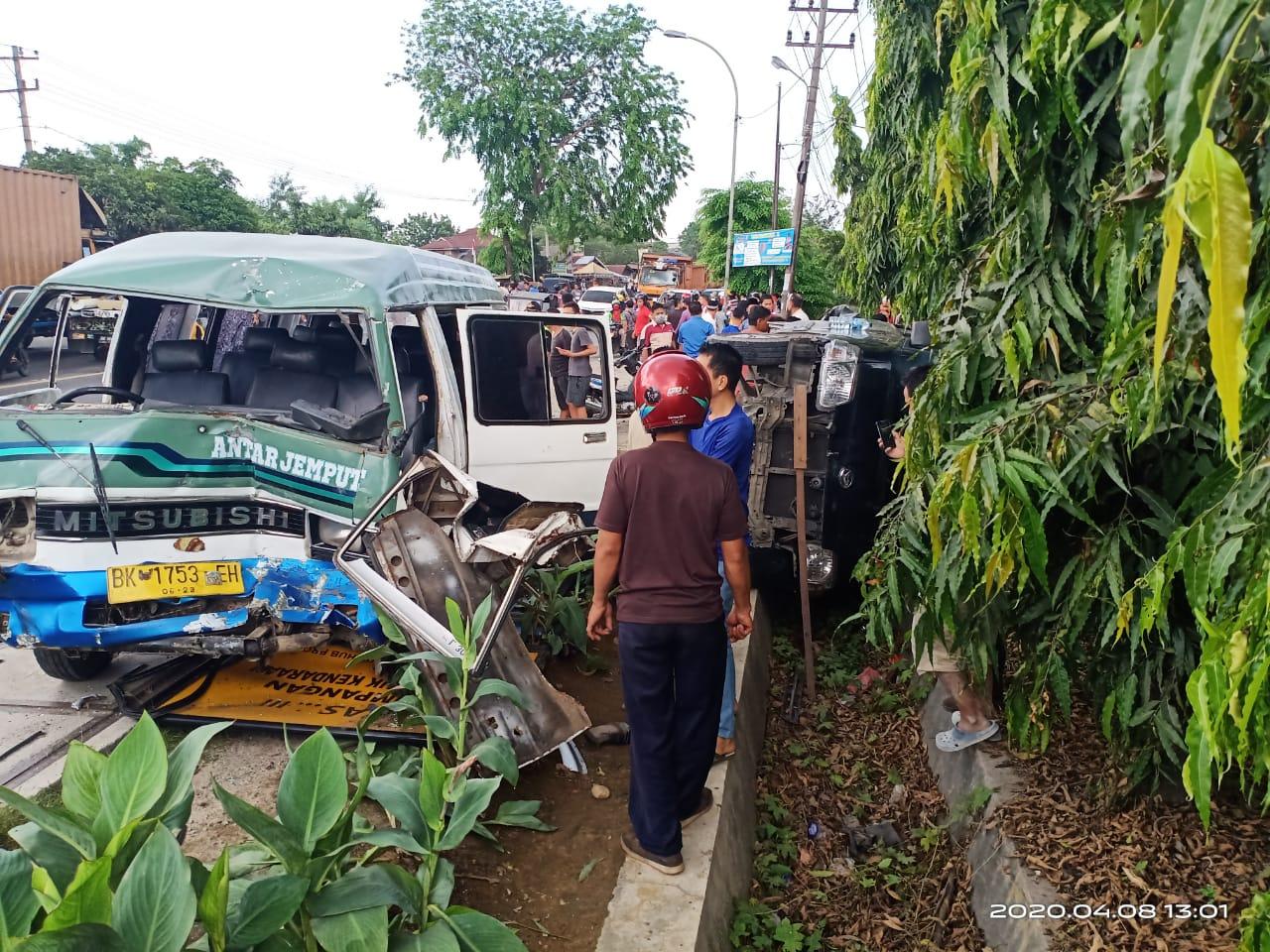 Kecelakaan Tewaskan Pengemudi Betor, Sat Lantas Polresta Deli Serdang Turunkan Tim Olah TKP