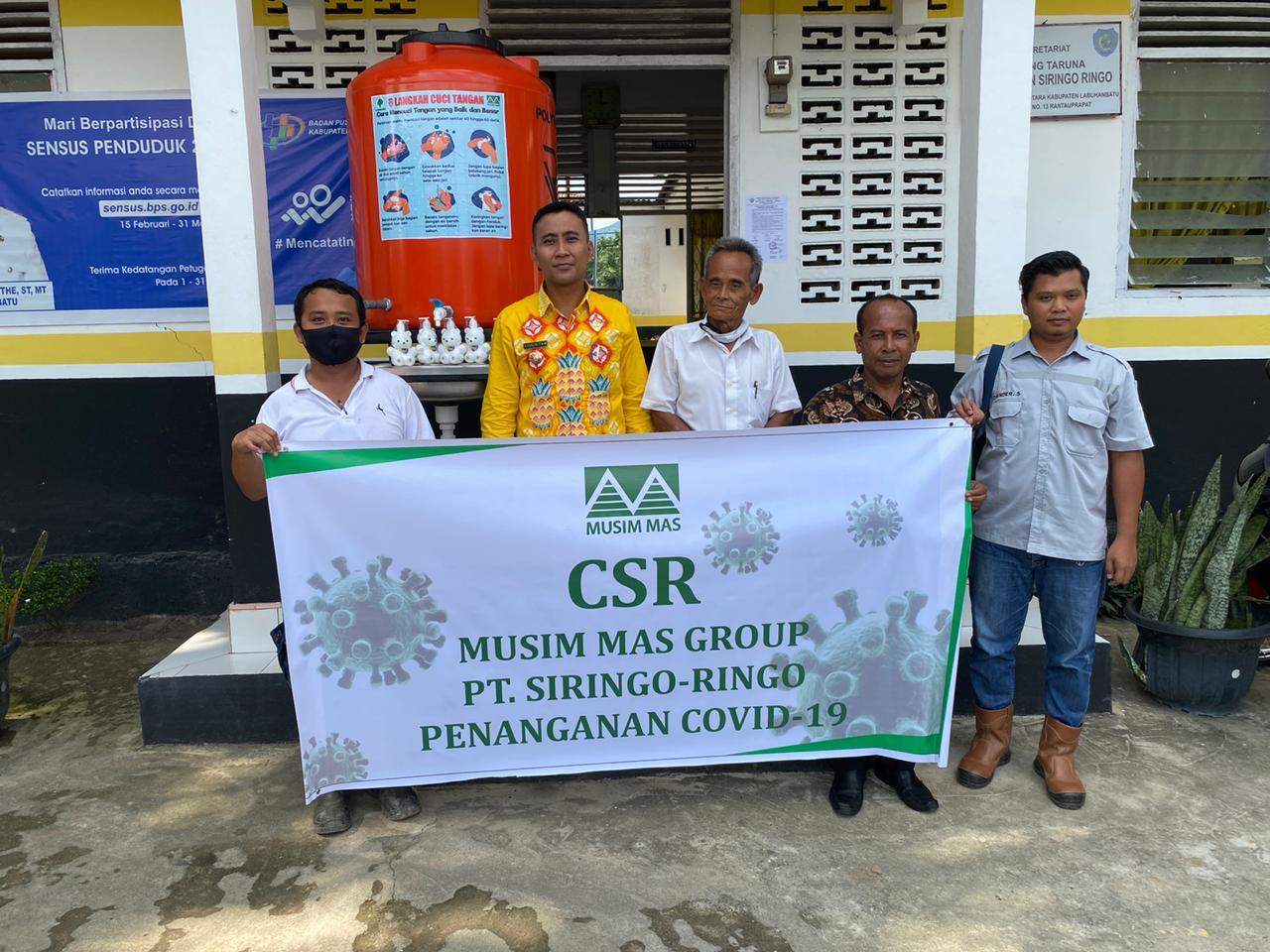 PT Siringo-ringo, Dukung Pemerintah Dalam Pencegahan Wabah Covid-19